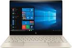 Flipkart : HP Envy Core i5 8th Gen - (8 GB/256 GB SSD/Windows 10 Home) 13-ad125TU Thin and Light Laptop  (13.3 inch, Gold, 1.32 kg) for 54990