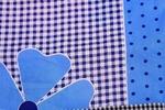 Exporthub Beautiful Waterproof Cotton Kitchen Apron - Blue