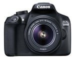Amazon : Canon EOS 1300D 18MP Digital SLR Camera (Black) with 18-55 and 55-250mm IS II Lens, 16GB Card and Carry Case