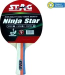 Stag Ninja Star Red, Black Table Tennis Racquet