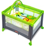 [ back again]  Fisher-Price Baby Boy's And Girl's Playmate Portable Cot  @6750 + icici offer