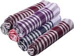 [87% off] Nostaljia Kitchen Towels Set Of 6 Multicolor Napkins  (6 Sheets)