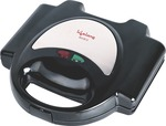 Lifelong LLSM116G 750-Watt 4-Slice, Non Stick Grill Sandwich Maker (Black)