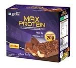 RiteBite Max Protein Choco Fudge Bar - Pack of 6,(75 g)