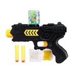 Webby 2 in 1 Soldier Gun with Jelly Shots and Soft Foam Bullets, Multi Color