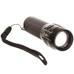 LOWEST   EKRON Zoomable Mode Bicycle Headlight Led Flashlight High Tech Ultra Glow Lite, Black