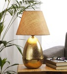 Beige cotton egg table lamp by anasa beige cotton egg table lamp by anasa zluyz1