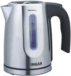 Inalsa Spectra 1.2-Litre 1630-Watt Electric Kettle Stainless steel