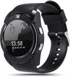 Noise Turbo Black Smartwatch  (Black Strap Regular)
