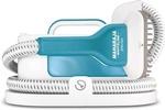 Maharaja Whiteline GS100 Garment Steamer  (White & Light Blue)