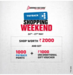 Brand Factory Shopping Weekend 24-27 May - Shop 2000 & Get 1000 Payback points (Rs.250) + Rs.1000 Unconditional BF Gift voucher