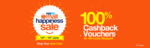 Paytm Happiness Sale from 12-14 June : Flat rs 300 cashback on minimum shopping of Rs 999