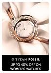 Tatacliq : Get up to 40% off on women's watches.