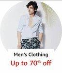 men's clothing upto 81% off