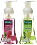 Palmolive Foaming Hand Wash - 250 ml (Raspberry) with Palmolive Foaming Hand Wash Lime and Mint - 250 ml