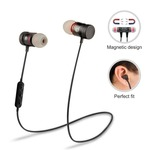 Anytime shops Magnetic Bluetooth Waterproof Headphone with Noise Isolation, Thunder Beats Stereo Sound and Hands-free Mic