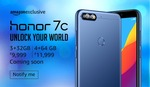 Honor 7c :- 10% instant discount using icici credit card emi