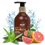 WOW Fabulous Foaming Body Wash, Grapefruit and Aloe Shower Gel, 300 ml