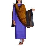 Unnati Silks Women's Dupatta(UDS1433_Yellow_Free Size)
