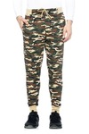 Tinted Men's Camouflage Print Track Pants