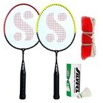 Silver's KIDS SIL-PEDAL COMBO-6 Aluminum Badminton Set at Rs.299