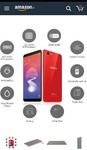 oppo realme1  3gb 32gb solar red available now...