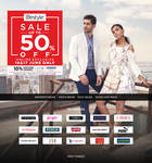 (Upcoming) Lifestyle Sale : Upto 50% off + 10% additional cashback on HDFC Credit Cards & Standard Chartered Debit & Credit Cards  Min .2499 (16th - 17th June)