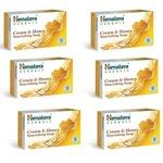 Himalaya Herbals Honey and Cream Soap, 125g (Pack of 6)@169