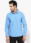 Pepe jeans blue solid slim fit denim shirt 9616 2086191 1 pdp slider l