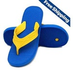 [Big Loot] Nexa Blue and Yellow Flip Flops @ Just 42/- , Free Shipping