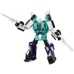 Transformers Generations Titans Return Leader Six Shot and Decepticon Revolver