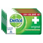 Dettol soap 125gm pack of 4 @ Rs. 112