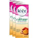 Steal - Veet Nikhaar Hair Removal Cream for All Skin Types - 25 g (Pack of 3)