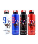 Beverly Hills Polo Club Deodorant For Men- Combo of 4 (175 ml each)