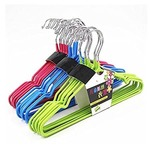 Mayatra's Set Of 30 Non Slip Plastic Coated Metal Clothes Hanger for Clothes, Shirts Dress Space Saving Kids Hanger