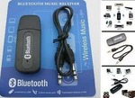 USB Type Bluetooth Audio Music Receiver Adapter 3.5mm Aux for Speakers