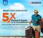 Book Domestic Hotels or International Hotels Get 10% Instant Discount + 5X reward points upto Rs.2000.