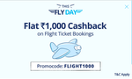 Paytm :- Flat 1000 Cashback on Flight Ticket Booking (Min. 2 Tickets)