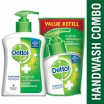 Dettol Original Liquid Handwash - 200 ml with Free Liquid Handwash - 175 ml (Any Variant)