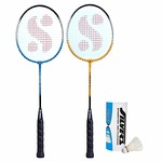 *🎖Silver's SIL-Drive-Combo-5 Aluminum Badminton Set at Rs.192