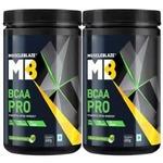 MuscleBlaze BCAA Pro 0.99 lb Green Apple - Pack of 2