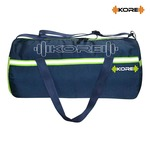 Kore Impulse-5.1 Gym Bag with One Side Pocket, One Side Ventilated Mesh and Carry Handels (Navy Blue/Neon Green)