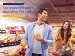 Shop at all Future Retail brand outlets with your Visa card and get 10% instant discount upto 100₹ on first 5 contactless transactions
