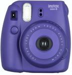 Fujifilm Instax Mini 8 Instant Film Camera (Grape)