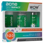 Cheap than FP---WOW Acne DEEP IMPACT TREATMENT KIT - STEP 1-2-3 - Acne Spot Therapy - No Parabens - No Sulphate