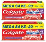 Colgate Maxfresh Spicy Fresh Red Gel Toothpaste - 300 g (Pack of 2) @ 172