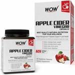 Wow Raw Apple Cider Vinegar Capsules - 60 Count