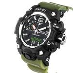 Espoir SKMEI Waterproof Series Digital Analogue Black Dial Digital Boy's and Men's Watch - DigiGreen0507