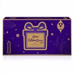 Cadbury Raksha Bandhan Digitally Augmented Assorted Chocolate Gift Box – Brother to Sister, 393 gm