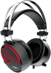 Gamdias HEBE E1 RGB Wired Headset with Mic  (Black, Over the Ear)